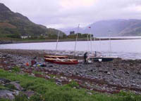 launching at loch duich