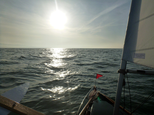 approaching St Katherines Race