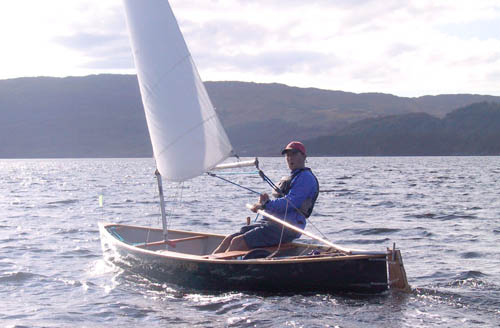 The Curlew Open Sailing Canoe