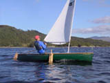 Solway dory sailing canoe