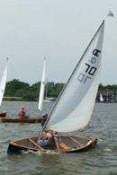 solway dory sailing canoes