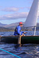 Curlew Sailing Canoe on Loch Sunart