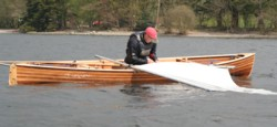 Removing boom before furling the sail